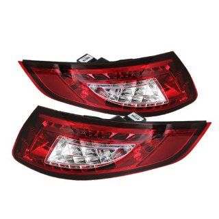 Spyder Auto ALT YD P99705 LED RC Porsche 997 Red/Clear LED Tail Light Automotive