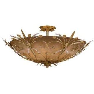 "Swarovski Crystal Paris Flea Market 30"" Wide Ceiling Fixture   Close To Ceiling Light Fixtures"