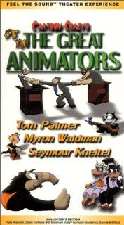 Cartoon Crazys   The Great Animators [VHS] Cartoon Crazys Great Animators Movies & TV