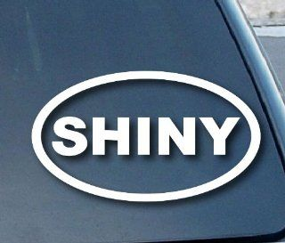"Firefly Shiny Serenity Car Window Vinyl Decal Sticker 4"" Wide (Color White)"