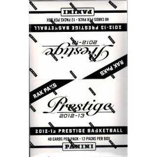 2012/13 Panini Prestige NBA Basketball Huge Factory Sealed Jumbo Rack Retail Box with 480 Cards Sports Collectibles