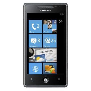 Samsung GT I8700 Omnia7 Unlocked Phone with Windows 7 OS, Wi Fi, 5 MP Camera and HD Video   International Version   Black Cell Phones & Accessories