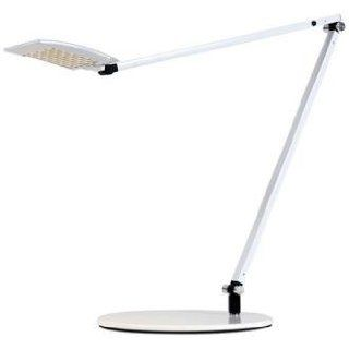 Z Bar Mosso LED Table Lamp Finish White, Light Color Cool