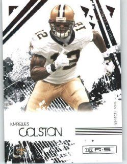 Marques Colston   New Orleans Saints   2009 Donruss Rookies and Stars NFL Trading Card Sports Collectibles