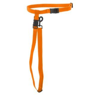 Max & Zoey 3/4 Inch Wide Hands Free Dog Leash, Regular, Orange  Pet Leashes