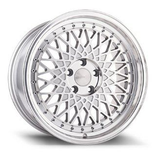 "18"" Wheels Rims Avant Garde M220 18x8 18x9 Machinnes Silver Honda Accord Sedan 5x114.3 Automotive"