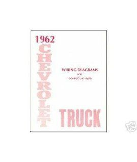 1962 Chevrolet Truck Electrical Wiring Diagrams Schematics Mechanic OEM Book Automotive