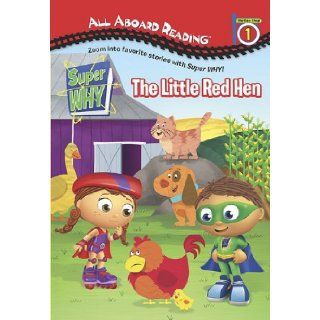 The Little Red Hen (Super WHY) (9780448452746) Samantha Brooke, MJ Illustrations Books