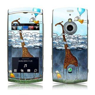 Above The Clouds Design Protective Skin Decal Sticker for Sony Ericsson Vivas Pro U8i Cell Phone Cell Phones & Accessories
