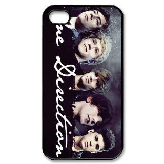 Custom One Direction 1D Cover Case for iPhone 4 4S PP 0605 Cell Phones & Accessories