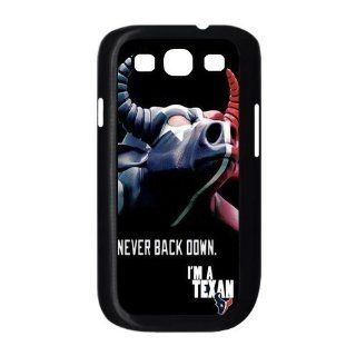 popularshow Samsung Galaxy S III Case NFL Houston Texans logo Hard case Cases for Samsung Galaxy S3 I9300 Case Cell Phones & Accessories