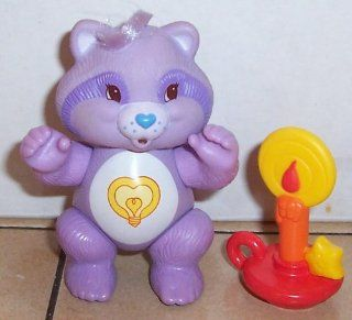 1984 Kenner Care Bear Cousin Poseable Bright Heart Raccoon