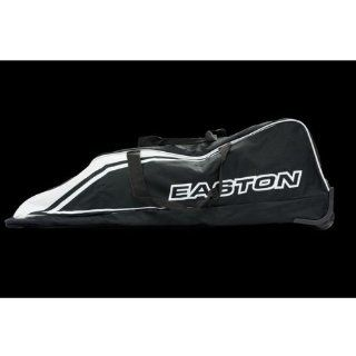 Easton Rampage Black White Wheeled Baseball Bat Bag  Sports & Outdoors