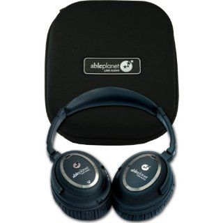 Able Planet NC1100B Clear Harmony Around the Ear Noise Cancelling Headphone (Black) Electronics