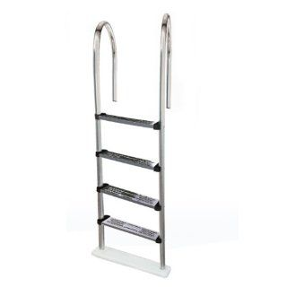 Swim Time NE1145 Premium Stainless Steel In Pool Ladder for Above Ground Pools  Patio, Lawn & Garden