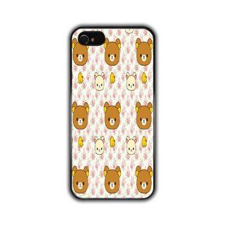 IPHONE 5 Kawaii Anime and Manga Cute Teddy Bear Black Slim Hard Phone Case Designed Protector Accessory *Also Available for Iphone Apple 4 4S 4G and Samsung Galaxy S3* AT&T Sprint Verizon Virgin Mobile Cell Phones & Accessories