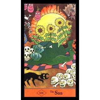 The Halloween Tarot Deck & Book Set 78 Card Deck [With Book] Karin Lee, Kipling West 9781572810341 Books