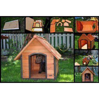 Pet Squeak Arf Frame Dog House, Large