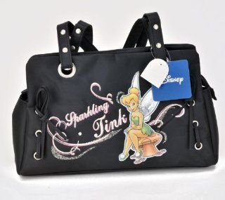 "Birthday Christmas Combo   Disney Tinkerbell Carryout Purse and Mickey Mouse 200 Piece Stickers, Size approximately 11"" X 6"" X 4"" Toys & Games"