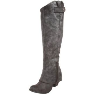 Fergie Women's Ledger Knee High Boot, Graphite, 11 M US Shoes