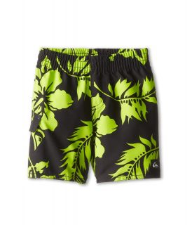 Quiksilver Kids Shrimp Truck Volley Boys Swimwear (Black)