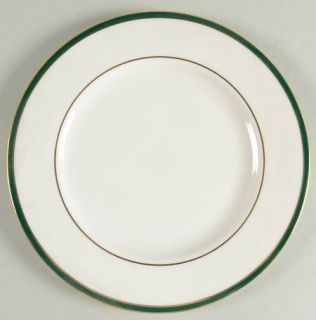 Royal Doulton Oxford Green (England) Luncheon Plate, Fine China Dinnerware   Eng