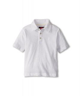 Quiksilver Kids Get It Polo Boys Short Sleeve Pullover (White)