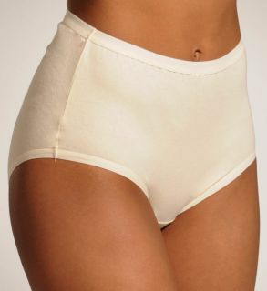 Vanity Fair 13340 True Comfort Cotton Stretch Brief Panty   5 Pack