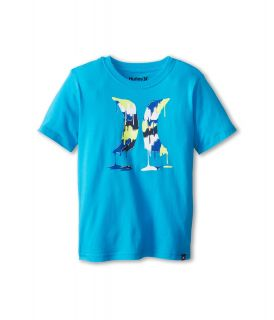 Hurley Kids Drippy Tee Boys T Shirt (Blue)