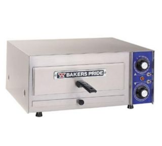 Bakers Pride Single Deck Electric Countertop Pizza Oven, 120v
