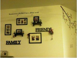 Good Life Because Every Picture Has A Story Quote Wall Sayings Vinyl Wall Lettering Decal Sticker