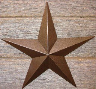 "53 Inch Heavy Duty Metal Barn Star Painted Hammered Brown. The Hammered Paint Effect Allows the Star to Look Great in Either a Contemporary or Rustic Theme. This Tin Barn Star Measures Approximately 53"" From Point to Point (Left to Right). The Barnsta"
