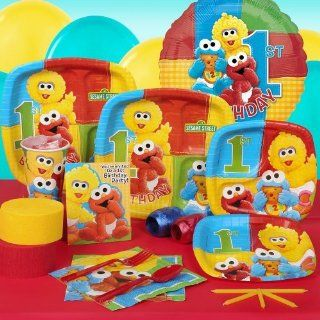 Sesame Street Beginnings 1st Birthday Standard Party Pack for 8 guests