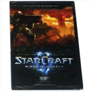 Starcraft II  Wings of Liberty Collector's Behind the Scenes DVD Video Games