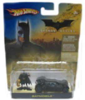 Mattel Hot Wheels 2005 164 Scale Batman Begins Black Mini Batmobile and Figure Die Cast Car Gift Set Toys & Games