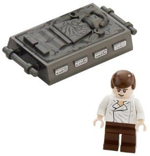 Han Solo and Carbonite (Return Of The Jedi)   LEGO Star Wars Minifigure (Appr Toys & Games