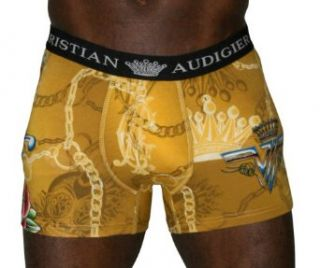 CHRISTIAN AUDIGIER Ed Hardy Mens Boxer Brief Underwear Size XXL at  Men�s Clothing store