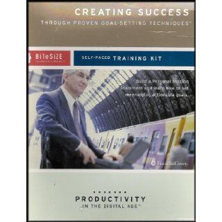 Creating Success Through Proven Goal Setting Techniques Build a Personal Mission Statement and Learn How to Set Meaningful, Actionable Goals [Self Paced Training Kit/Productivity in the Digital Age] (Contains CD ROM/Audio CD/Booklet) Franklin Covey Staff