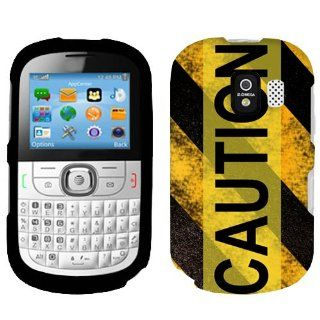 Alcatel One Touch 871A Caution Danger Sign Phone Case Cover Cell Phones & Accessories