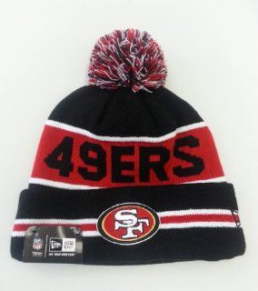 NEW ERA POM KNIT BEANIE THE COACH NFL SAN FRANCISCO 49ERS TEAM COLOR  Sports Fan Beanies  Sports & Outdoors