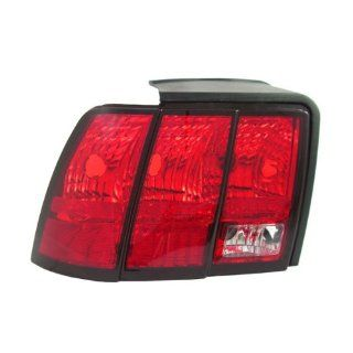 1999 2004 Ford Mustang (Except Cobra) Taillight Taillamp Rear Brake Tail Light Lamp Left Driver Side (1999 99 2000 00 2001 01 2002 02 2003 03 2004 04) Automotive