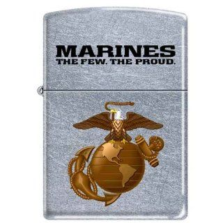 US Marine USMC ~ Marines,The Few, The Proud ~ Military Zippo Lighter Semper Fi Sports & Outdoors