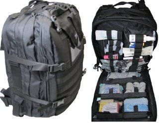Fully Stocked Stomp Medical First Aid Kit Back Pack Health & Personal Care