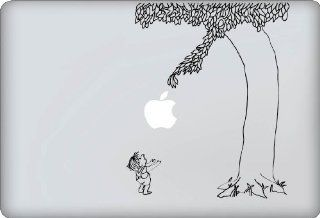Giving Tree Decal   Vinyl Macbook / Laptop Decal Sticker Graphic
