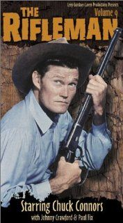 The Rifleman   Volume 9 [VHS] Chuck Connors, Johnny Crawford, Paul Fix, Archie Butler, Joe Benson, Bill Quinn, Patricia Blair, Whitey Hughes, Joe Higgins, Joan Taylor, Harlan Warde, Hope Summers Movies & TV