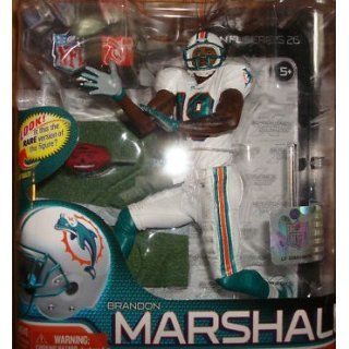 NFL Miami Dolphins McFarlane 2011 Series 26 Brandon Marshall Action Figure  Toy Figures  Sports & Outdoors
