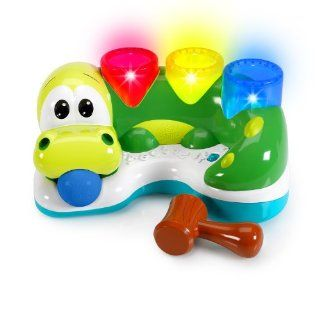 Bright Starts Having a Ball Bop and Chomp Gator  Baby Musical Toys  Baby