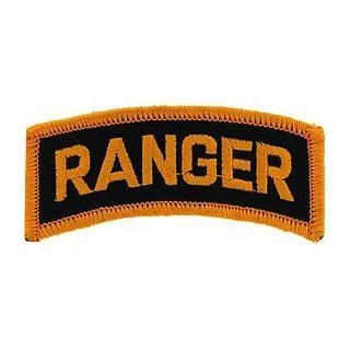 US Army Military Armed Forces Iron On Patch   U.S. Army Ranger Tabs   Ranger Applique Clothing