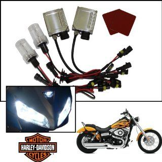 TGP H11 Specialty Pink AC HID Xenon Kit (Low Beam Only) 2010 2013 Harley Davidson FLHTCUSE CVO Ultra Classic Electra Glide Automotive