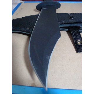 Ontario Spec Plus Marine Raider Bowie  Fixed Blade Camping Knives  Sports & Outdoors